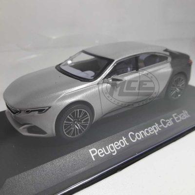 PEUGEOT CONCEPT CAR EXALT SALON DE PARÍS 2014 SILVER/GREY NOREV