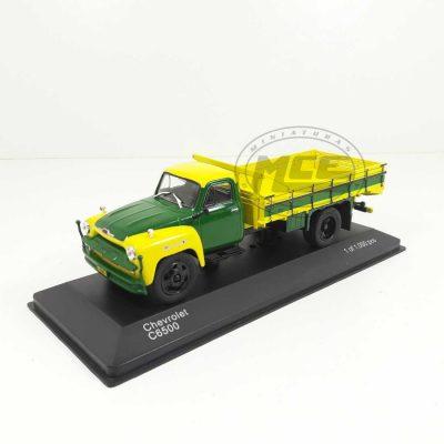 CHEVROLET C 6500 CAJA ABIERTA VERDE/AMARILLA WHITEBOX