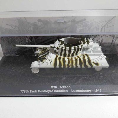 M36 JACKSON 776TH TANK DESTROYER BATTALION LUXEMBOURG 1945