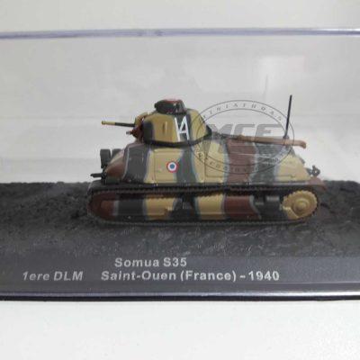 SOMUA S35 1º DLM SAINT-OUEN (FRANCE) 1940