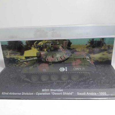 M551 SHERIDAN 82nd AIRBORNE DIV. OPE. DESERT SHIELD SAUDI ARABIA 1990