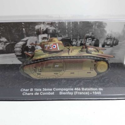 CHAR B 1BIS 3EME COMPAGNIE 46E BAT CHARS COMBAT BIENFAY(FRANCE)-1940