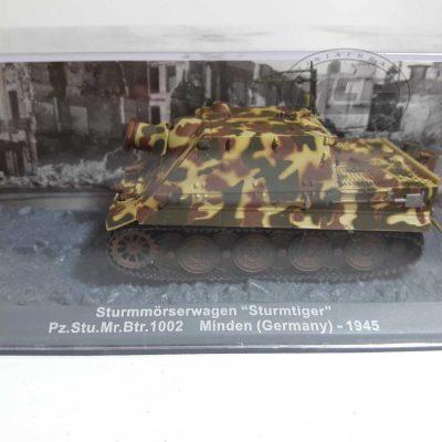 """STURMMORSERWAGEN""""STURMTIGER"""" PZ.STU.BTR.1002 MINDEN(GERMANY)-1945"""